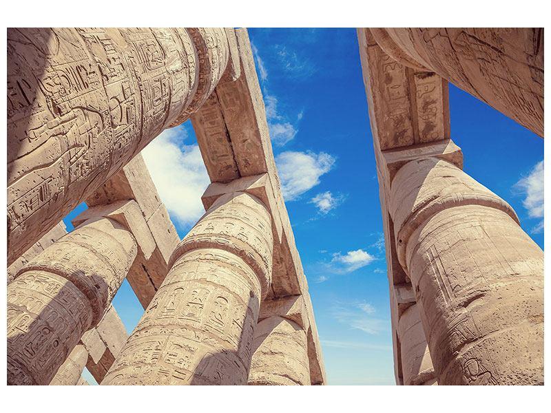 Klebeposter Tempelsäulen - 90 x 60 cm